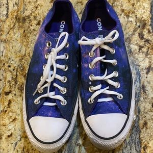 Converse galaxy shoes